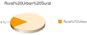 Surat census population